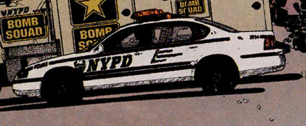 X-Factor #11 - NYPD Police Car
